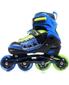 Move Fast boy inline skates / skeelers blauw