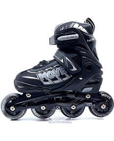 Move Fast Uni inline skates / skeelers zwart