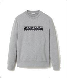 Napapijri Bebel Crew heren casual sweater midden grijs