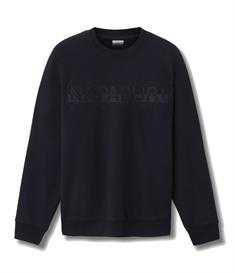Napapijri Berber C heren casual sweater marine