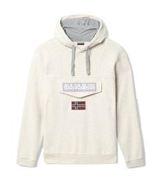 Napapijri Burgee 2 heren casual sweater ecru