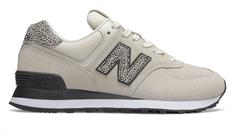 New balance WL574 dames sneakers ecru