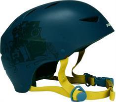 Nijdam 75CF Black bmx/skate helm marine
