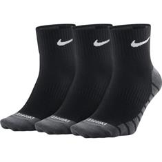 Nike 3 paar Everyday Max Ankle sportsokken zwart