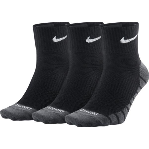 Nike 3 paar Everyday Max Ankle sportsokken zwart