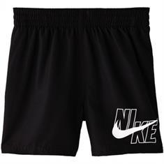 Nike 4 Volley Short Camo jongens zwemshort zwart
