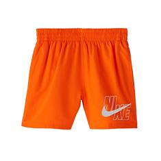 Nike 4 Volley Short jongens beachshort oranje