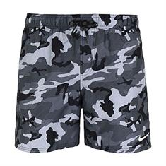 Nike 5 Volley Short heren beach short zwart