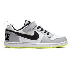 Nike 870025.104 court borough junior schoenen wit