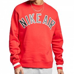 Nike Air Crew heren sportsweater rood