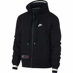 Nike Air Hoodie FZ heren sportsweater zwart