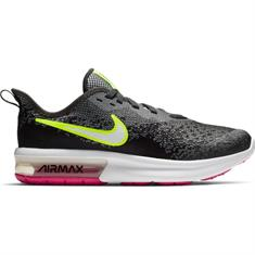 Nike Air max sequent dames sneakers antraciet