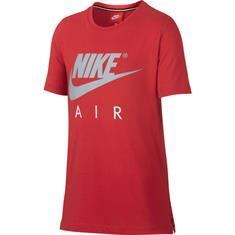 Nike Air Top SS jongens sportshirt rood