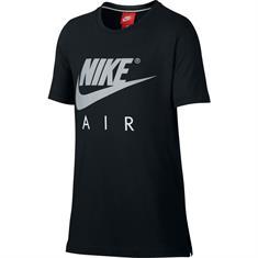 Nike Air Top SS jongens sportshirt zwart