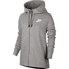 Nike Av15 hoodie fz dames sportsweater antraciet