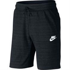 Nike AV15 Short Knit heren sportshort zwart