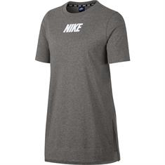 Nike AV15 Top dames sportshirt antraciet