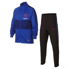 Nike Barcelona Trainingspak junior voetbal trainingspak blauw