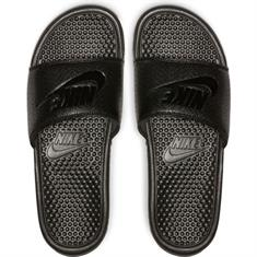 Nike Benassi badslippers zwart