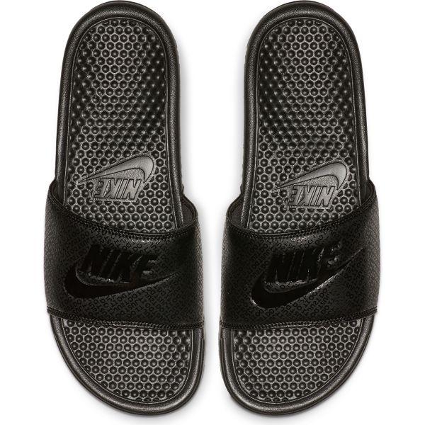 890e5add9be Nike Benassi badslippers zwart van slippers & sandalen