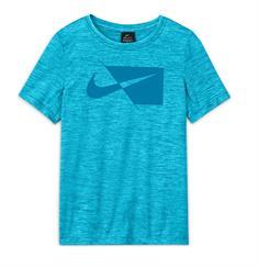 Nike Big Kids jongens sportshirt blauw