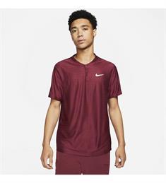 Nike Breathe Advantage heren sportshirt bordeaux