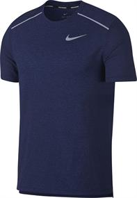 Nike Breathe Rise 365 heren hardloopshirt denim