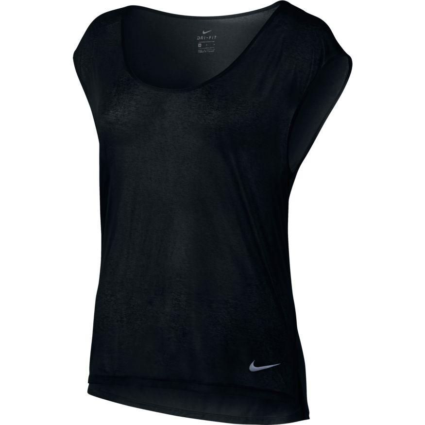fec08252a44fec Nike Sportshirt Dames Zwart
