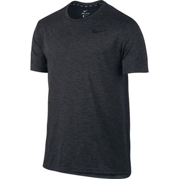 Nike Breathe Top Heren sportshirt donkergroen
