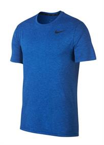 Nike Breathe top heren sportshirt kobalt