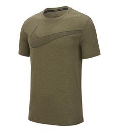 Nike Brt Top SS Hyper Dry heren sportshirt groen