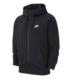 Nike Club Hoodie Fleece heren sportsweater zwart