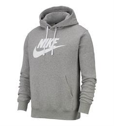 Nike Club Hoodie heren sportsweater midden grijs