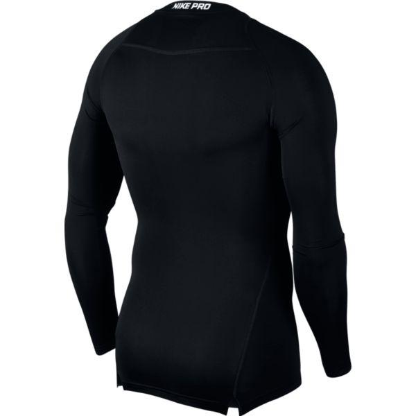 Nike Comp Top Longsleeve heren compressie shirt zwart