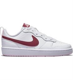Nike Court Borough Low 2 junior schoenen wit