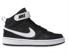 Nike Court Borough Mid 2 junior schoenen zwart