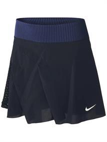 Nike Court Dri-Fit ADV Slam dames tennisrok zwart