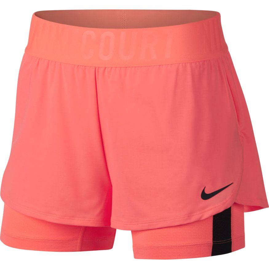 858a86b19c8 Nike Court Dry Ace Short dames tennisshorts rose
