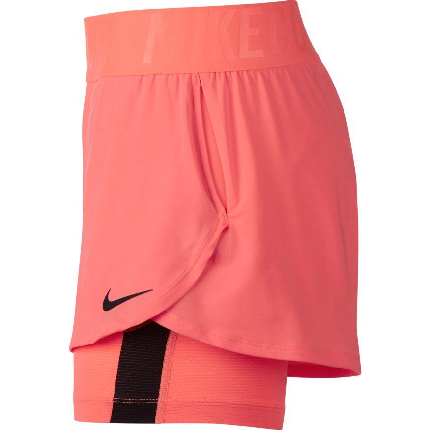 f5b0bc9527a ... Nike Court Dry Ace Short dames tennisshorts rose