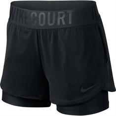 Nike Court Dry Ace Short dames tennisshorts zwart