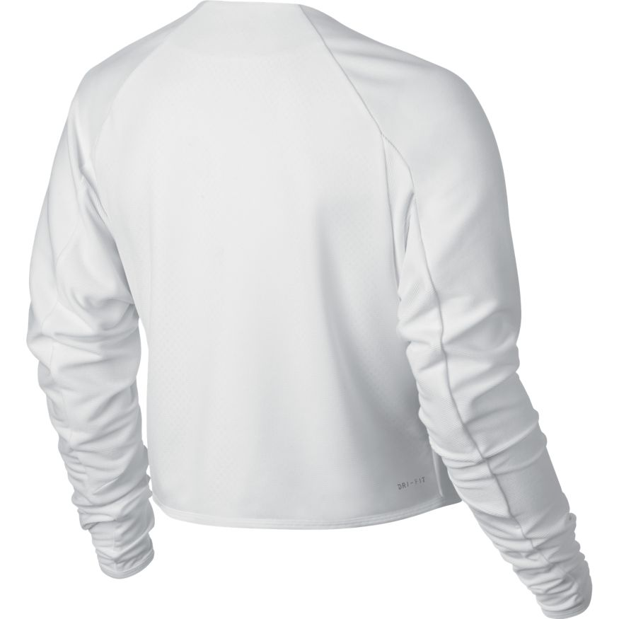 c9c0aa17593 ... Nike Court Dry Jacket dames sportsweater wit