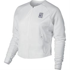 Nike Court Dry Jacket dames sportsweater wit