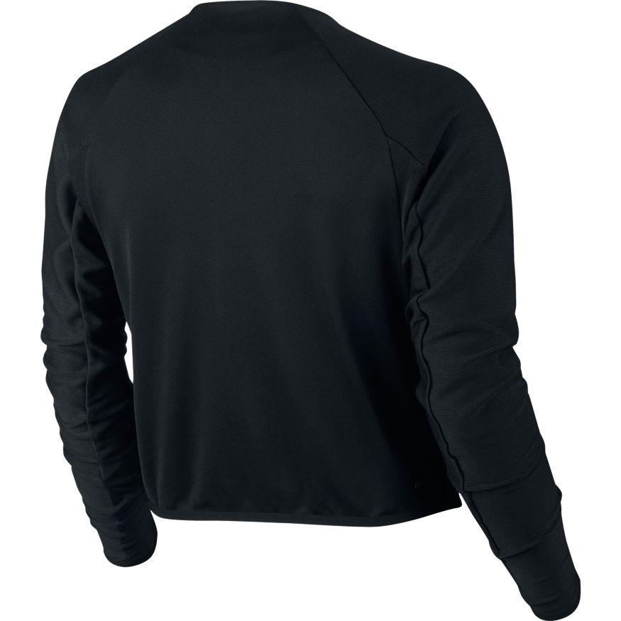 50558ca0b35 ... Nike Court Dry Jacket dames sportsweater zwart