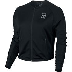 Nike Court Dry Jacket dames sportsweater zwart