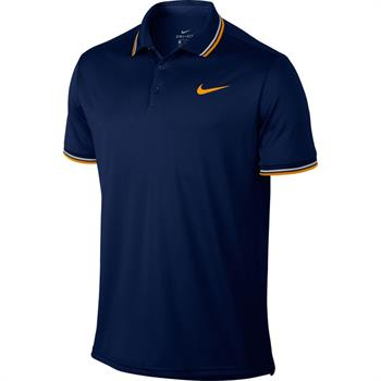 Nike Court Dry polo Heren tennisshirt marine