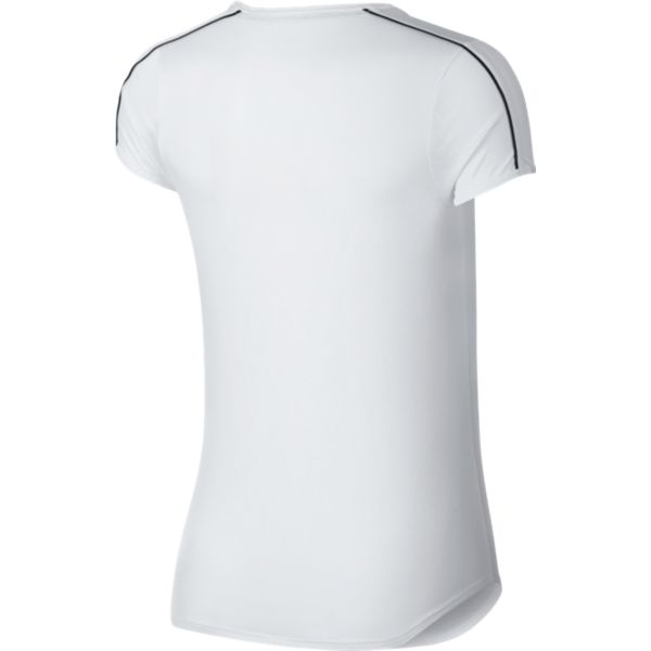 Nike Court Dry Top dames shirt wit