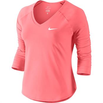 Nike Court Pure top Dames shirt rose