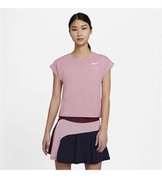 Nike Court Victory dames sportshirt lila