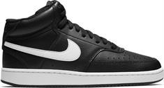 Nike Court Vision Mid dames sneakers zwart