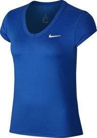 Nike dames shirt kobalt